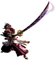 MHGen-Long Sword Equipment Render 001