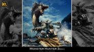 MH 10th Anniversary-Monster Hunter 3 Wallpaper 001