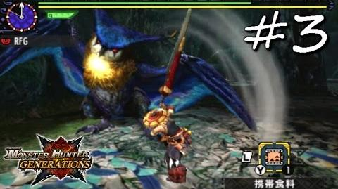 Monster Hunter Generations (X) Playthrough 3 Yukumo Village and LR Malfestio (Adept Greatsword)