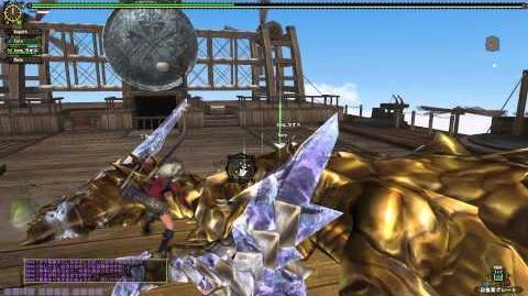Monster Hunter Frontier G5 - Garuba Daora - Gou (HR100) Rank Hunt