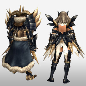 FrontierGen-Tinku Armor (Both) (Back) Render