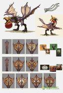 MHOL-沙雷鳥 Concept Artwork 006