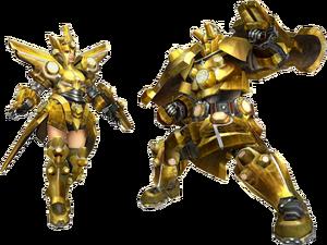 FrontierGen-Uragaan Armor (Gunner) Render 2