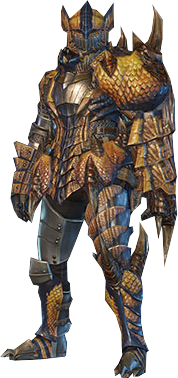 File:MHO-Tigrex Armor (Gunner) (Male) Render 001.png