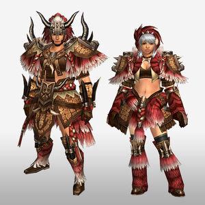 FrontierGen-Gogo Armor (Blademaster) (Front) Render
