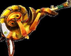 MH4-Hunting Horn Render 009