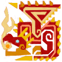 File:MHXR-Flame Rathalos Icon.png