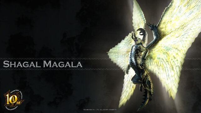File:MH 10th Anniversary-Shagaru Magala Wallpaper 001.jpg