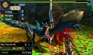 MH4U-Blue Yian Kut-Ku Screenshot 009
