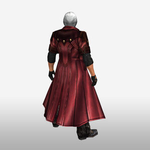 FrontierGen-Dante Armor 003 (Male) (Both) (Back) Render