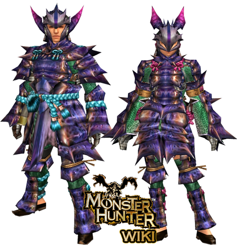 yian garuga armor blade monster hunter wiki fandom