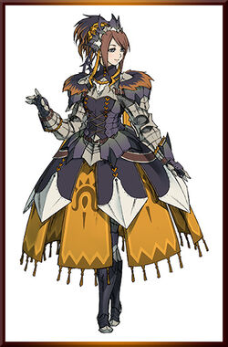 MHGen-Dreadqueen Rathian Armor (Female) Concept Art 001