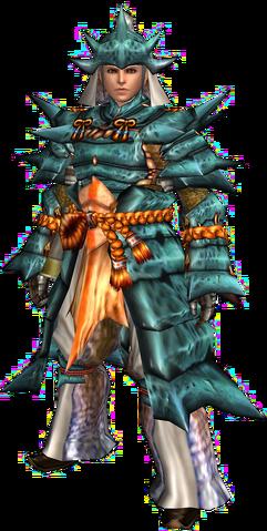 File:FrontierGen-Kutkusu G Armor (Male) (Blademaster) Render 001.png