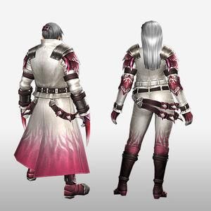 FrontierGen-Vuaisu Armor (Blademaster) (Back) Render