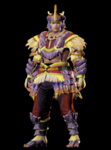 MHO-Caeserber Armor (Blademaster) (Male) Render 001