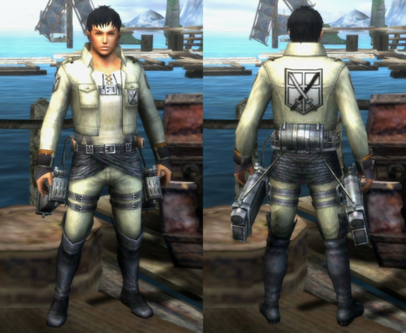 File:MH3G-Trainee Squad Armor (Male) (Both) Render 001.png