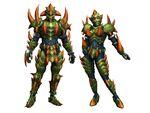 FrontierGen-Divol Armor (Both) Render 2