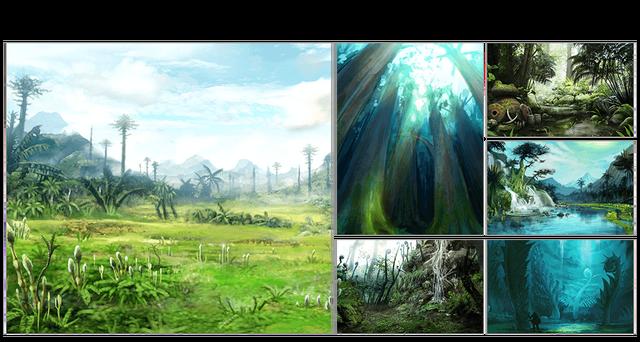 File:MHGen-Jurassic Frontier Concept Art 001.png