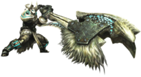 MH3U-Switch Axe Equipment Render 001