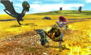 MH4U-Blue Yian Kut-Ku Screenshot 001