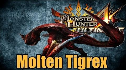 Monster Hunter 4 Ultimate - Molten Tigrex Tips For Fighting It