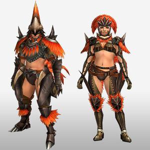 FrontierGen-Hypno Armor (Blademaster) (Front) Render