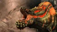 Deviljho MHP3rd Intro