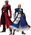 FrontierGen-Akahara Reisou Armor (Male) and Knight-King Armor (Female) (Both) Render 2