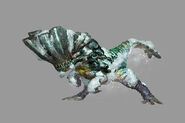 MHP3-Jade Barroth Render 001
