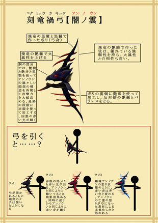 File:MHFG-Famitsu Contest Unknown (Black Flying Wyvern) Bow 001.jpg