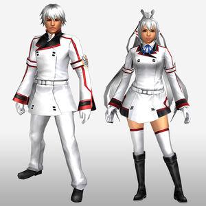 FrontierGen-IS Academy Armor 002 (Both) (Front) Render