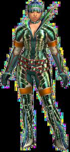 FrontierGen-Ganon G Armor (Gunner) (Female) Render 001
