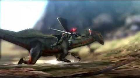 Kogath - Monster Hunter 4 - Great Jaggi Intro