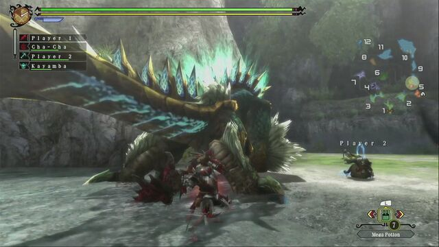 File:MH3U Zinogre vs hunter 06.jpg