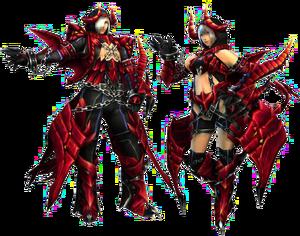 FrontierGen-Varu Armor (Gunner) Render 2