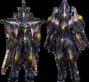 MH4U-Nerscylla Z Armor (Blademaster) Render 001