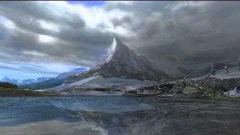 """Monster Hunter Freedom Unite -- """"Silver World"""" (Snowy Mountains Intro - Day)"""