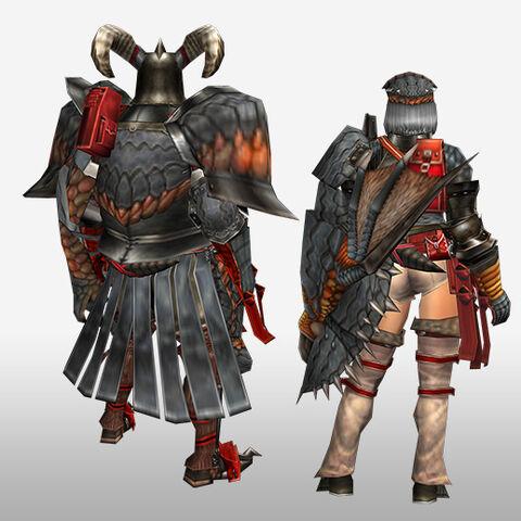 File:FrontierGen-Geryosu G Armor (Gunner) (Back) Render.jpg