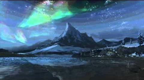"""Monster Hunter Freedom Unite -- """"Silver World"""" (Snowy Mountains Intro - Night)"""