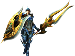 MH4G-Charge Blade Equipment Render 001