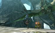 MH4U-Azure Rathalos Screenshot 008