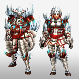 FrontierGen-Disu G Armor (Blademaster) (Front) Render