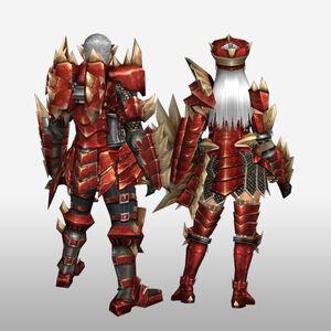 FrontierGen-Odiba Armor (Gunner) (Back) Render