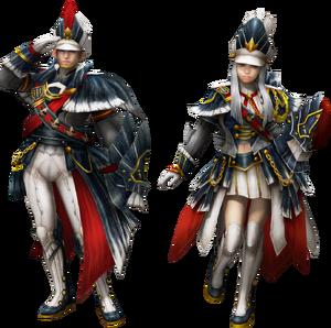 FrontierGen-Poborumu Armor (Gunner) Render 2