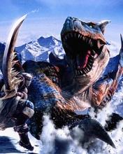 File:Monster Hunter Freedom 2 Tigrex vs Guild Knights of St. Suzaku a.k.a Lancelot..jpg