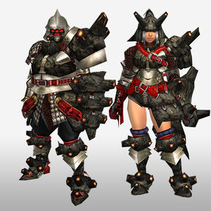 FrontierGen-Gurabide G Armor (Gunner) (Front) Render