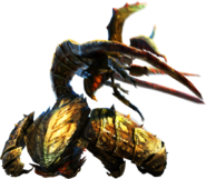 MH4U-Desert Seltas Queen and Desert Seltas Render 001