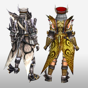 FrontierGen-Atora Armor (Both) (Back) Render
