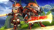 SSB4-Rathalos Armor Screenshot 001