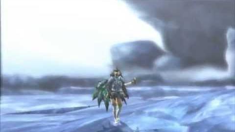 3DS モンスターハンター 4G Monster Hunter 4G - 錆びたクシャルダオラ Rusted Kushala Daora Guild Quest Intro
